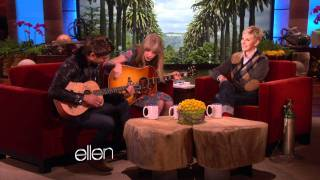This incredible duo teamed up to perform an original song for Ellen! They may not have had a lot of rehearsal, but it's clear that this is one musical combo it ...