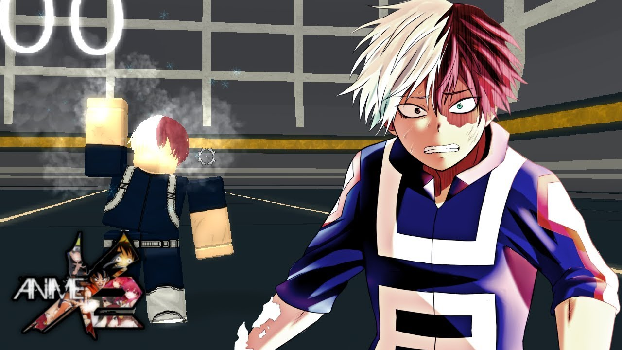 Shoto Todoroki In Anime Cross 2 Roblox Youtube