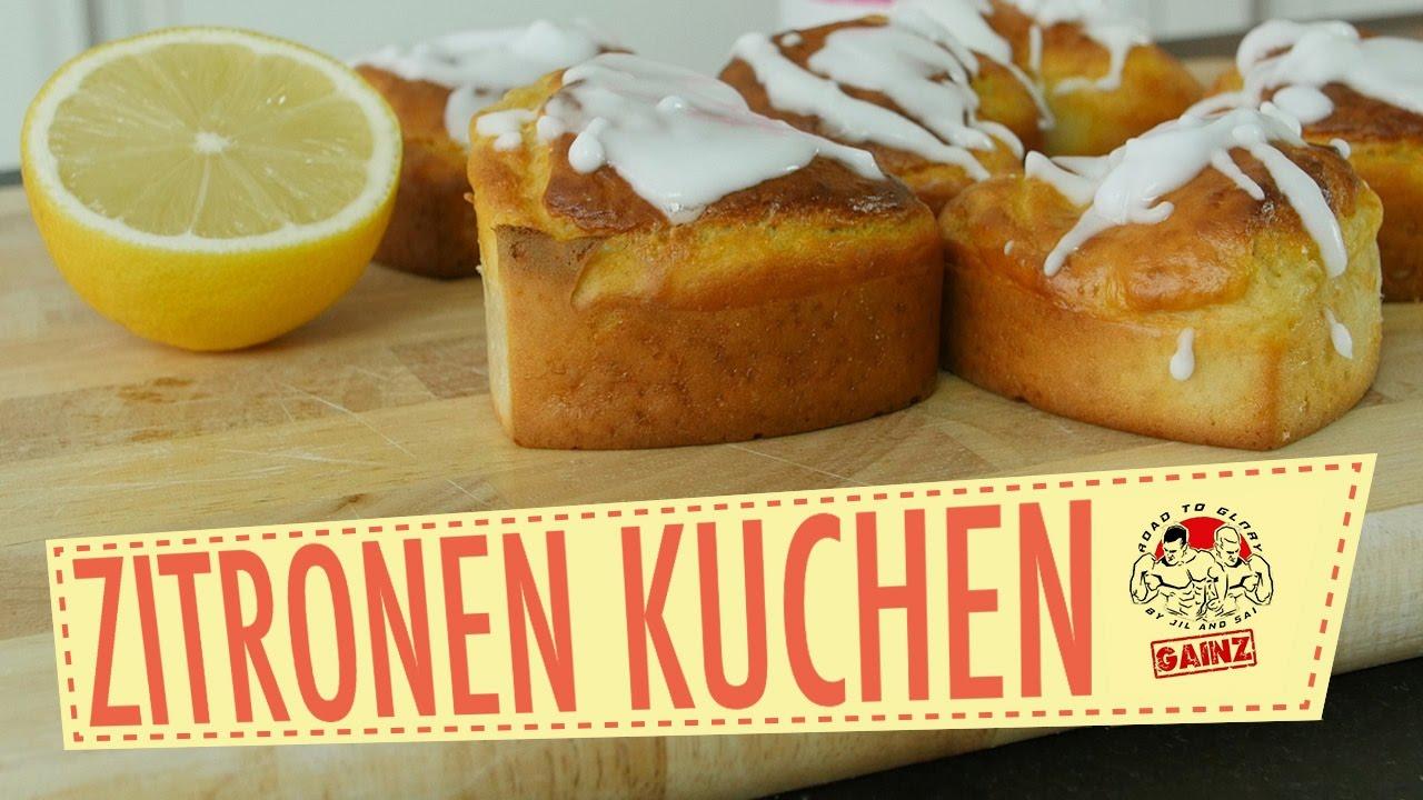 Fitness Rezept Protein Zitronen Kuchen Muffins Bester Protein
