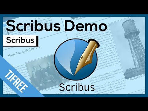 Scribus - Free Desktop Publishing (indesign Alternative) - YouTube