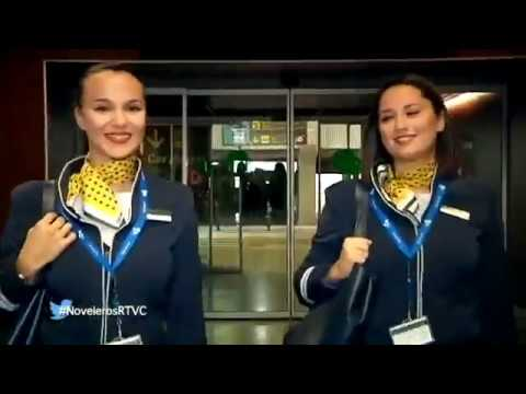 Katherine Reyes, azafata de vuelo - Reportaje de Florentín Díaz  Noveleros