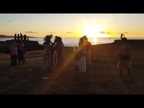 Traditional Ancestral Wedding on Rapa Nui