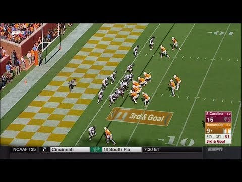 2017 USC vs Tennessee - Final 1:13 with Radio Commentary
