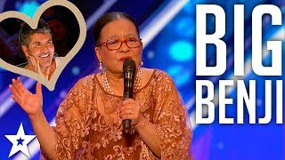 Big Benji sing to Simon | America's Got Talent | Got Talent Global