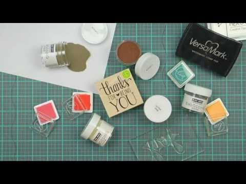 Hero Arts How-To: Heat Embossing