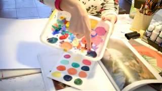 Painting Fullness - Proceso de creación Mood Board Artístico - Paso2