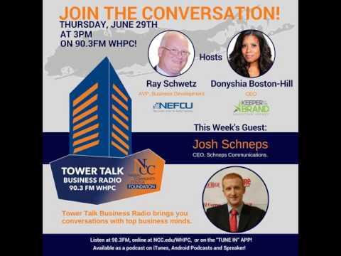 Tower Talk Business Radio: J. Schneps (Schneps Communications)