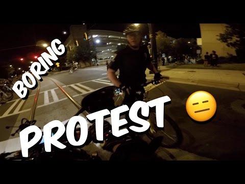 Charlotte North Carolina Protest Moto Vlog?