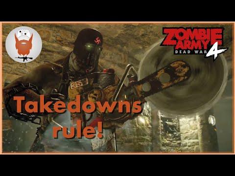 Zombie Army 4 Takedown Gameplay! |