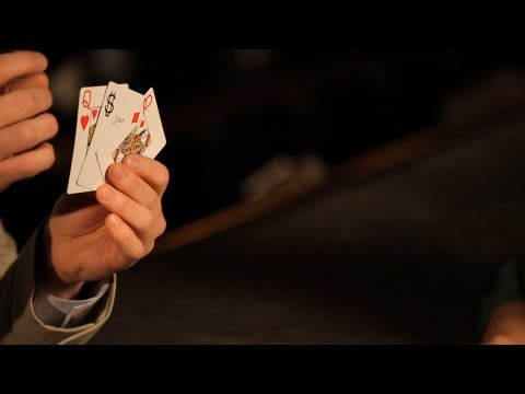 How To Do The Basic 3-Card Monte Trick | Table Magic Tricks