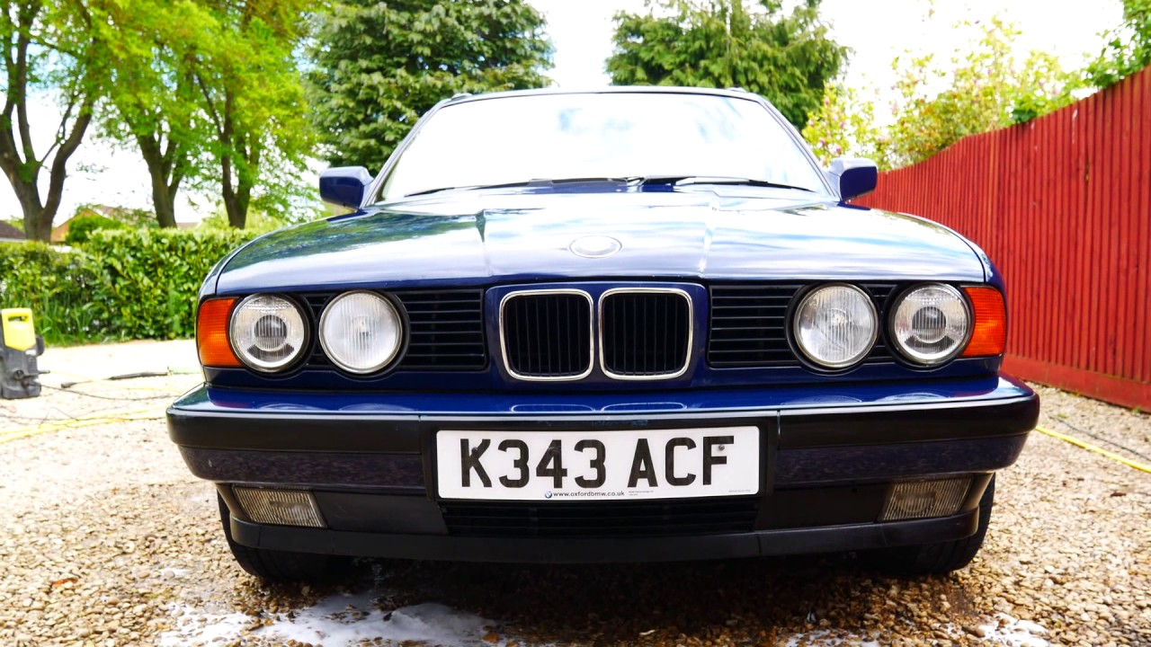 Bmw E34 525i Touring Test Drive And Wash Youtube