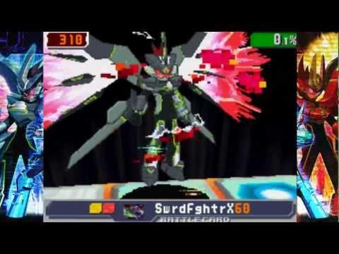 Megaman Starforce 3 Black Ace - VS Crimson Dragon Σ (Sigma)