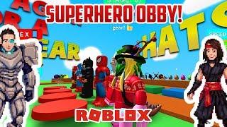 Roblox SUPERHERO OBBY!