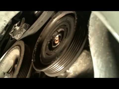 How to change an A/C clutch on a 2005 Town and Country