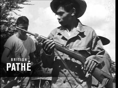 Filipinos Armed To Fight Japanese (1945)