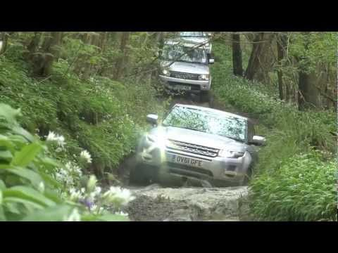 Land Rover Experience At Eastnor Castle - YouTube