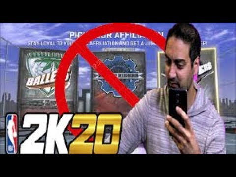 FIRST OFFICIAL NBA 2K20 NEWS FROM RONNIE 2K-No Affiliations Confirmed