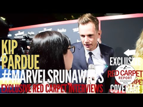 Kip Pardue ed at the Premiere of Marvel's Runaways streaming on Hulu WeAskMore ‏
