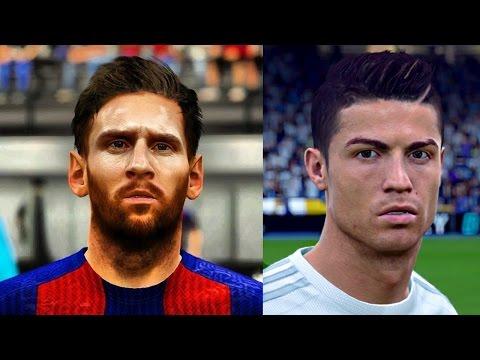 Lionel Messi vs Cristiano Ronaldo | FIFA 17