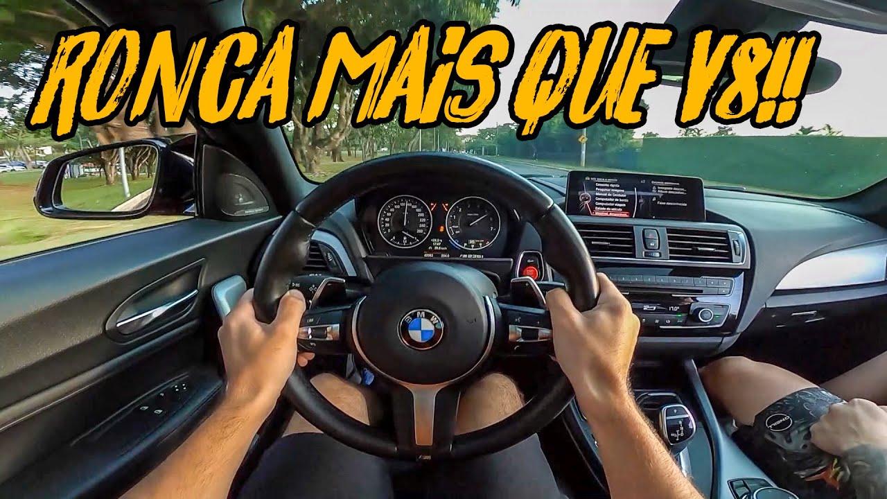 ANDANDO NO 12 DE BMW😈 430CV PIPOCANDO MUITO!!