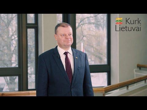 Ministras Pirmininkas Saulius Skvernelis kviečia – Tavo idėjų reikia Lietuvai!