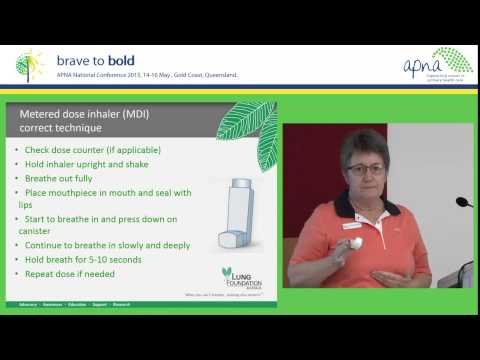 COPD Medicines and Inhaler Technique Educational Video