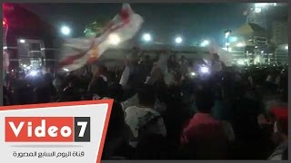 شاهد كيف أحتفل أبناء ميت عقبة بعد ضياع كأس بطولة أفريقيا