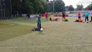 Lehrgang beim Fußballverband Niederrhein zum Zonentraining