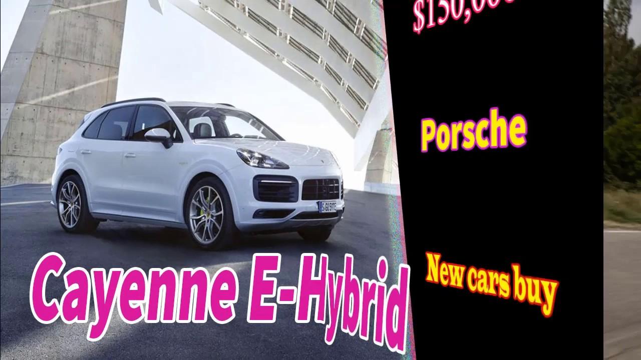 Porsche Cayenne E Hybrid 2019 Español Sound
