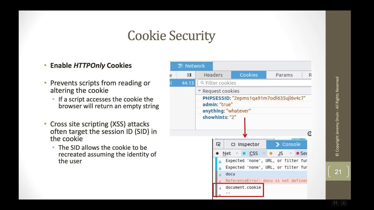 Yum! Secure Cookies