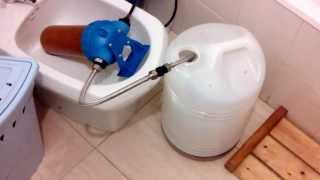 Sistema filtrado aceite vegetal usado