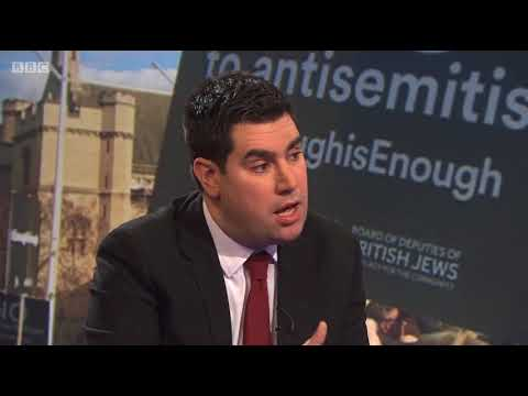 Andrew Neil discussing Antisemitism on BBC DP with Richard Burgon