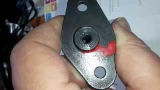 видео Установка автоматического натяжителя цепи