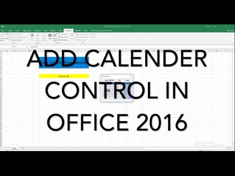 vba calendar control | Date Picker Calendar | free download- vbatip#10