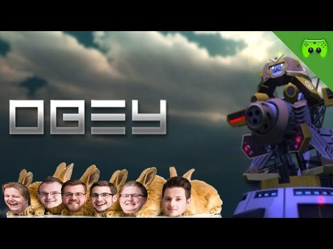 Obey # 01 - « Hasenpower! » Let's Play Obey| 60HD