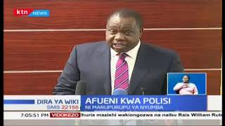 Polisi kuanza kupokea marupurupa za nyumba kulingana na mabadiliko iliyotangazwa na rais Uhuru
