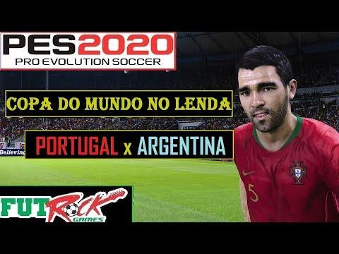 PES 2020 - COPA DO MUNDO NO LENDA COM PORTUGAL - LUTA PELAS OITAVAS DE FINAL - 동영상