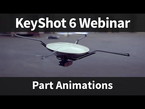 Webinar 58: KeyShot Part Animations