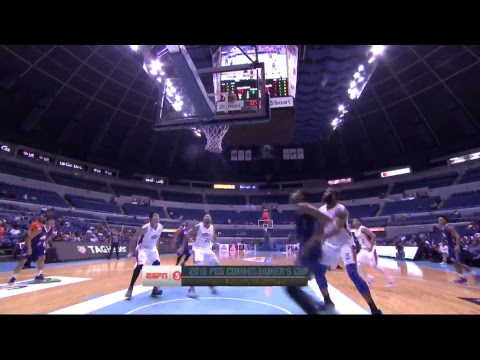 Columbian Dyip vs Meralco Bolts | PBA Commissioner's Cup 2018 Eliminations