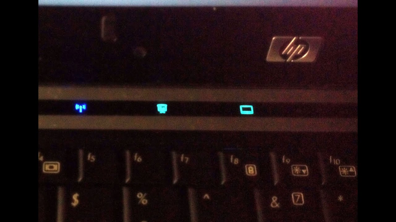 HP WiFi switch location