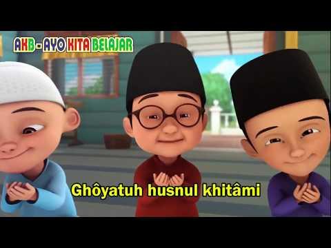 Cover Adek Berjilbab Ungu Versi Sholawat Upin Ipin Akb Ayo Kita Belajar