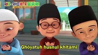 Download lagu Cover Adek Berjilbab Ungu Versi Sholawat Upin Ipin | AKB - Ayo Kita Belajar