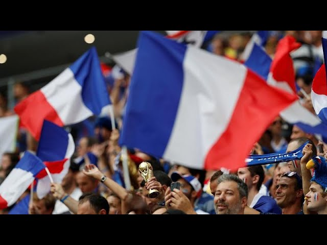 World Cup Live: France and Croatia face off in final