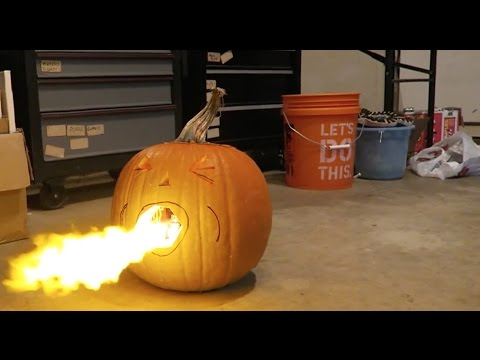 Thumbnail: Making a Flamethrower (Homemade RomanAtwood Flamethrower)