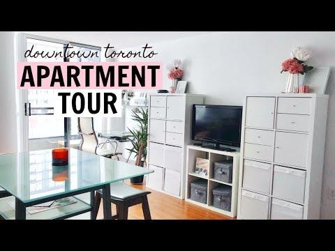 DOWNTOWN TORONTO STUDIO APARTMENT TOUR | prettypolishes