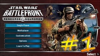 Прохождение Star Wars Battlefront: Renegade Squadron (PSP) #1 - Явин 4