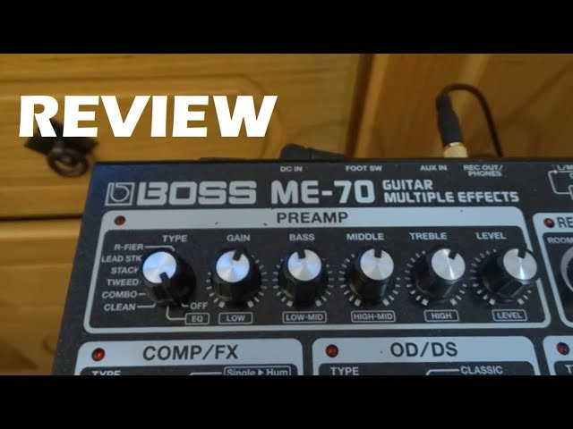 Boss ME-70 Review | Tutorial en Español