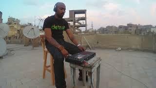 "Drummer B -  MPC Live rooftop performance  ""Deep"" (Cairo, Egpyt)"