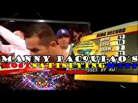 Download MANNY PACMAN PAQUIAO VS COCKY BOXERS - BY theboxinghighlights