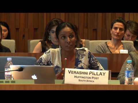 Panel 3 - Verashni Pillay, Editor in Chief, Huffington Post, South Africa